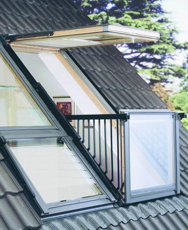 Окна для крыши - мансардные окна