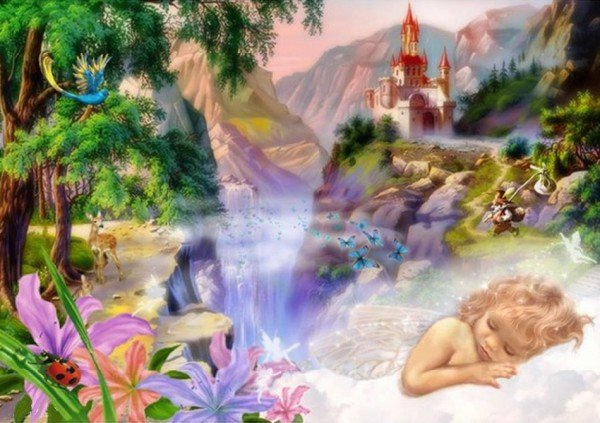 Детские сновидения - грань между сном и явью