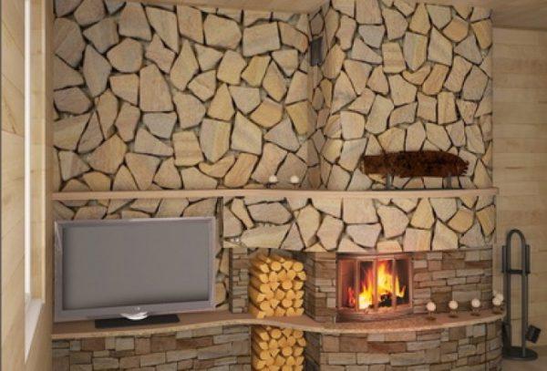 Камины в квартирном интерьере