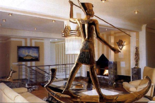 Египетский стиль в интерьере квартиры