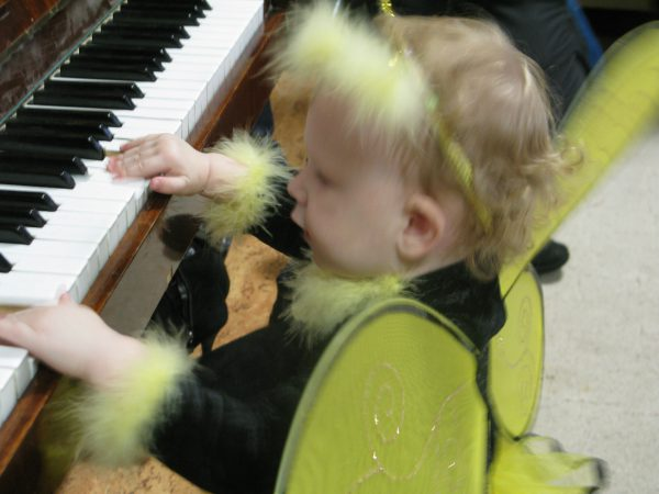Влияние музыки на маленького ребенка