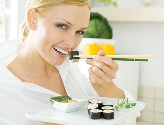 Суши и сеты – доступное удовольствие.