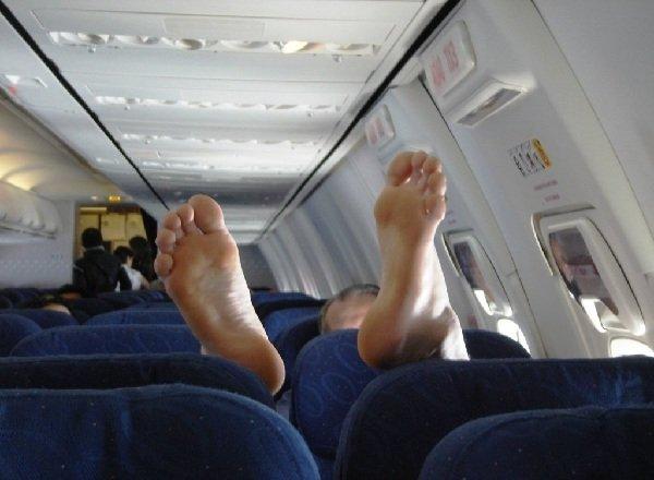 Правила поведения в самолете.