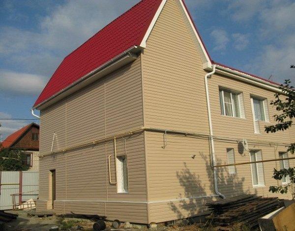 Виниловый сайдинг для отделки фасадов