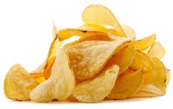 Самые вредные продукты питания - чипсы
