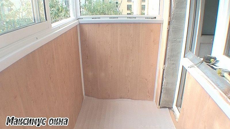 Ремонт балкон недорого своими руками