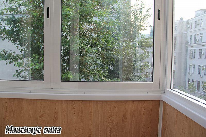 каркас балкона из профиля