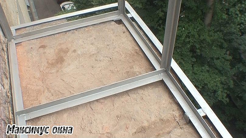 Проект увеличения балкона в сталинке..