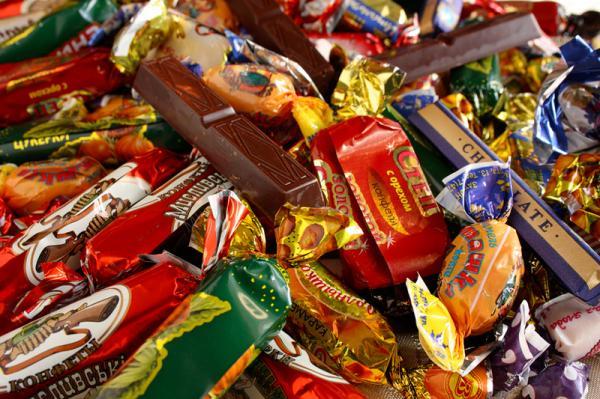 Самые вредные продукты питания - сладости