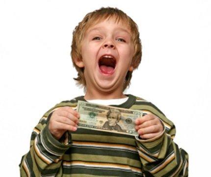 Дети и деньги - сколько денег давать ребенку