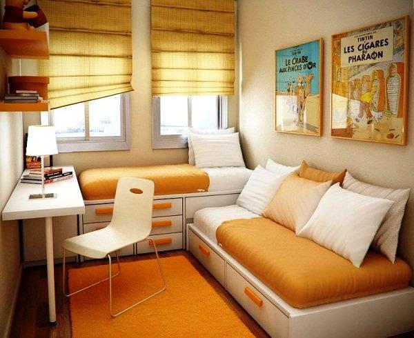 Как расширить пространство маленькой комнаты
