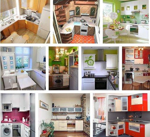 Как все уместить на маленькой кухне