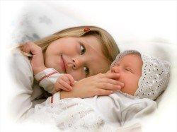 Первый месяц жизни малыша - что для него важно