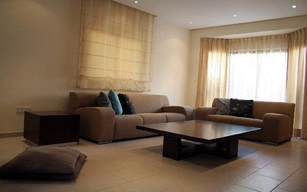 Коричневый диван 3