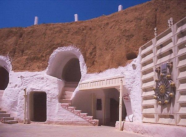 Дома пещеры фото ТОП-10 - Тунис, Матмата