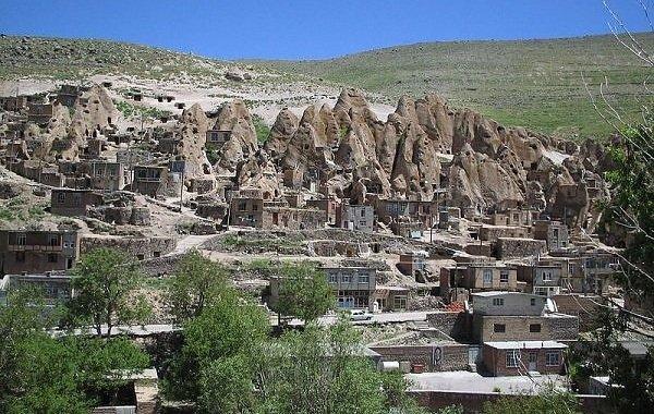 Дома пещеры фото ТОП-10 - Иран, Кандован