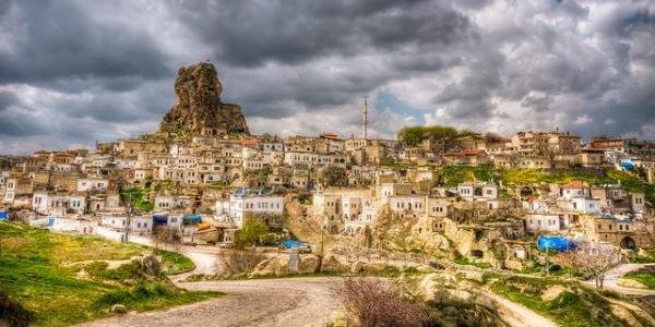 Дома пещеры фото ТОП-10 - Турция, Ортахисар