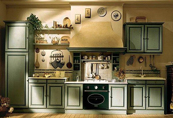 Как оформить дизайн кухни в прованском стиле?