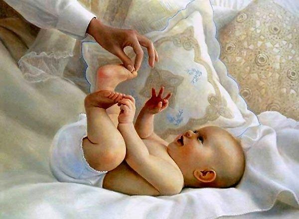 Рефлексы новорожденного ребенка.