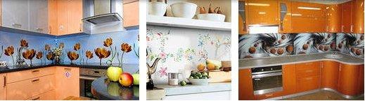 Фартук для кухни - практично и стильно