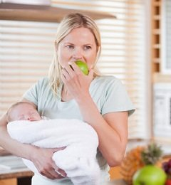 Как посетить мать с новорожденным ребенком