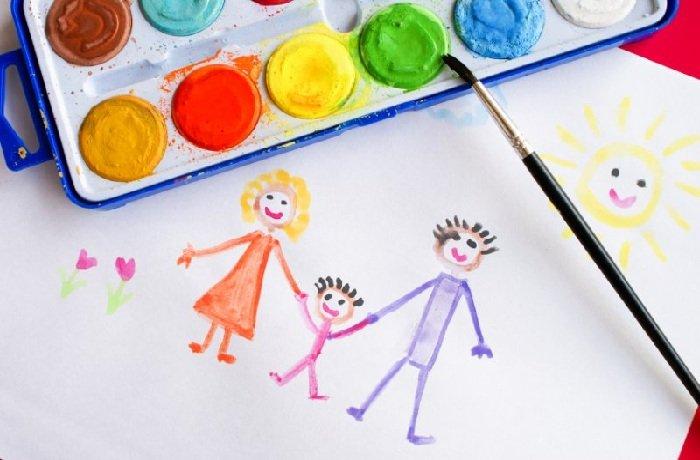 Тест для ребенка нарисовать семью.