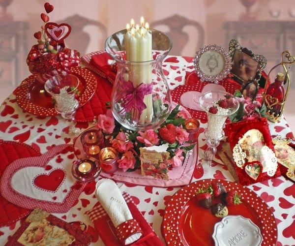 Как отметить дома День Святого Валентина