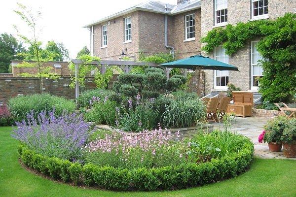 Ландшафтный дизайн и озеленение сада