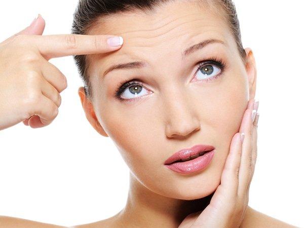 Как убрать морщины вокруг глаз, губ и на лбу?