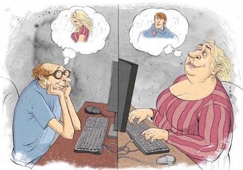 Знакомства в интернете - как себя вести
