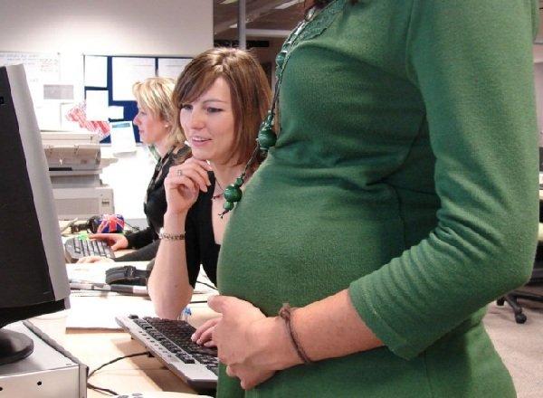 Работа и беременная женщина - как совместить?