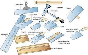 Венецианская штукатурка своими руками - Инструменты