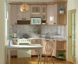 Стильный интерьер кухни в хрущевке