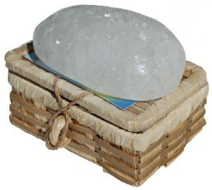 Алунит - дезодорант природы