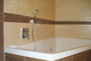 Отделка ванной комнаты листовыми панелями ПВХ