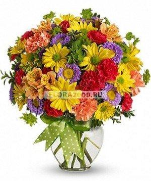 Букет цветов влияет на самочувствие!