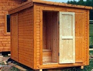 Дачный туалет - дачный туалетный домик!