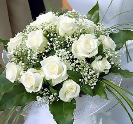 Модный свадебный букет невесте