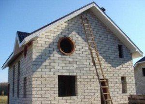 Облегченные стены при строительстве дома