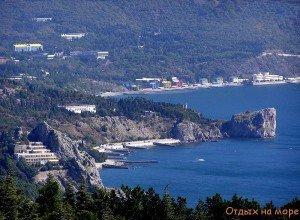 Отдых на берегу Крыма