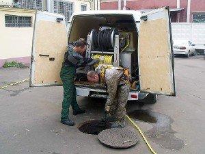 Профессиональная прочистка труб канализации