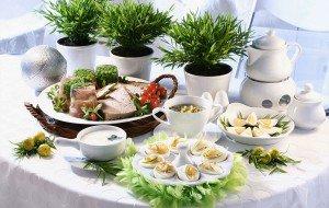 Магия продуктов питания на кухне