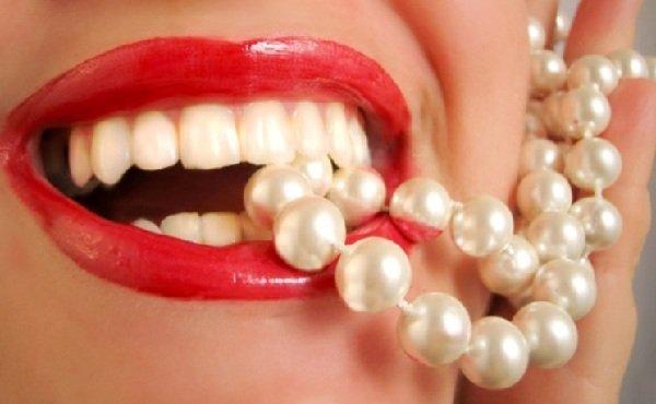 Зубки и жемчуг