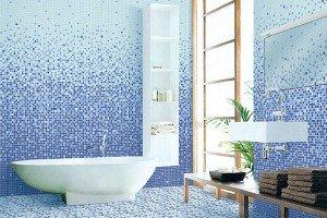 Ванна с мозаикой