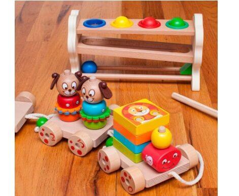 Деревянные игрушки развивающие и безопасные
