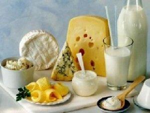 Молочные продукты для красоты кожи