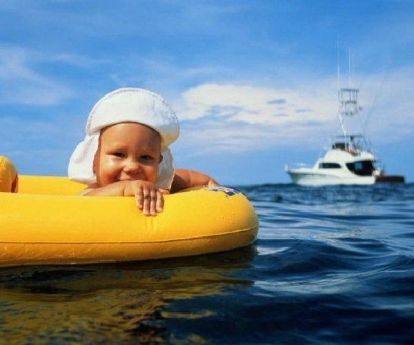 Как сделать отдых на море с ребенком приятным и легким