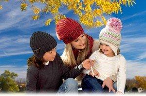 Модные шапки 2014 - 2015