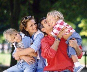 Воспитание дошкольника любовью родителей.