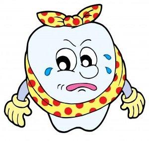 Больной зубик